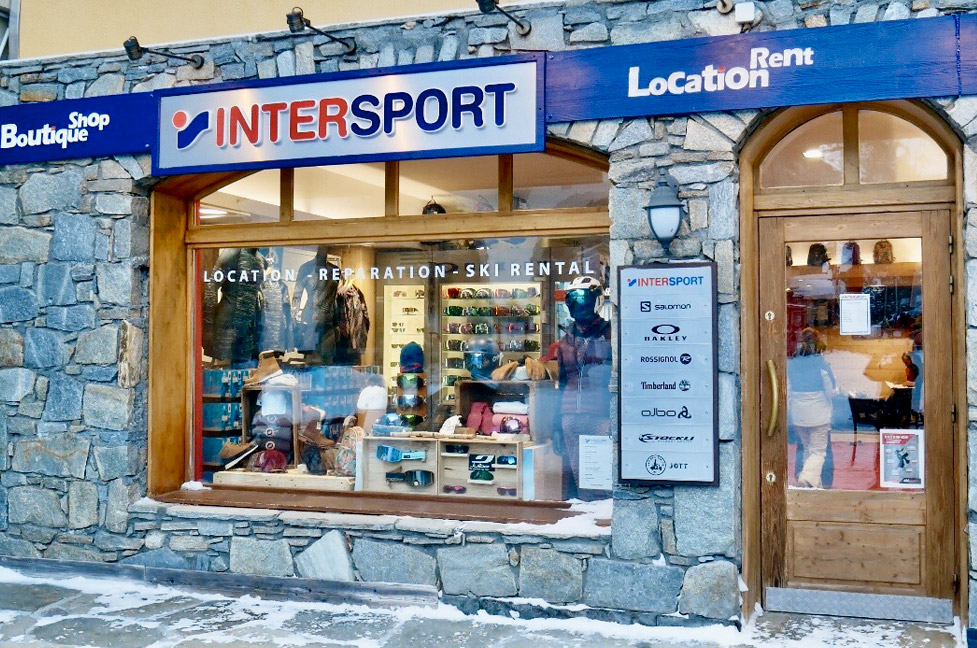 Location de ski Arc 1950 Intersport